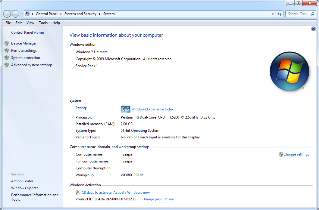 Windows loader 2.0 0 by daz 9down