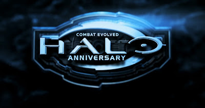 Halo Combat Evolved Anniversary 3D Realistic Game Logo HD Wallpaper