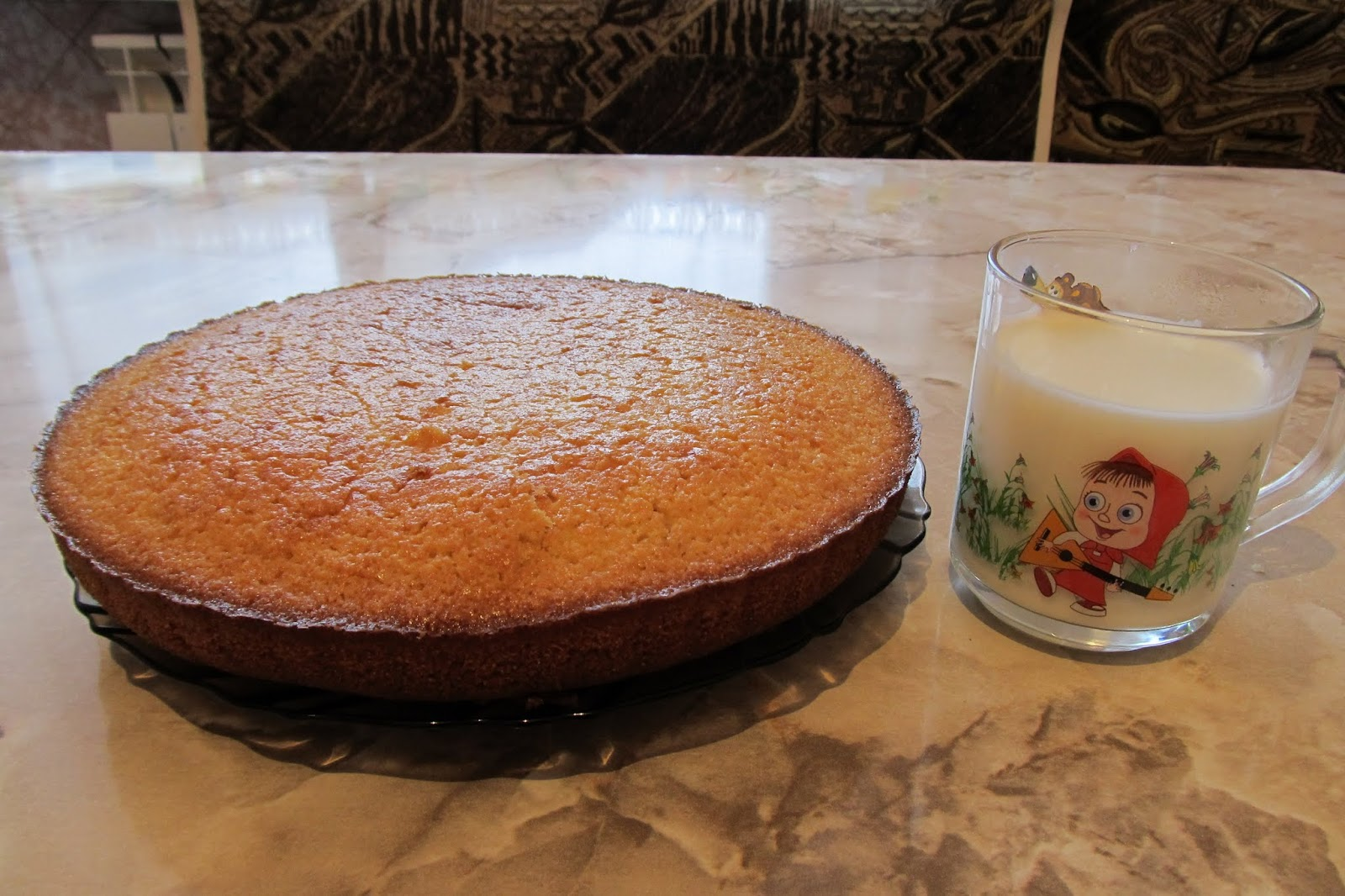 Морковный пирог для детей рецепт
