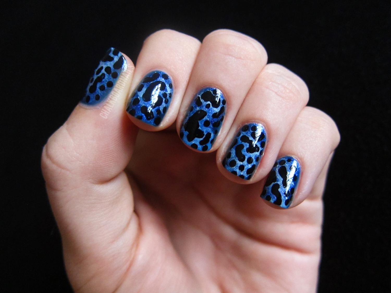 31 Day Challenge, Day 13: Animal Print   Chalkboard Nails   Nail Art ...