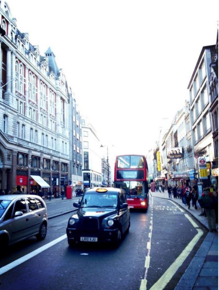 Photos of London taken by Seungri