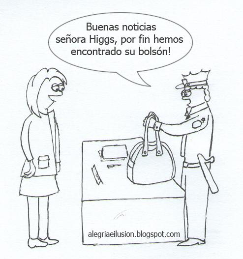 Viñeta de el bolsón de higgs