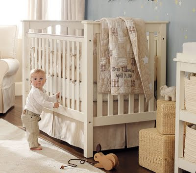 pottery barn sleigh crib price 3