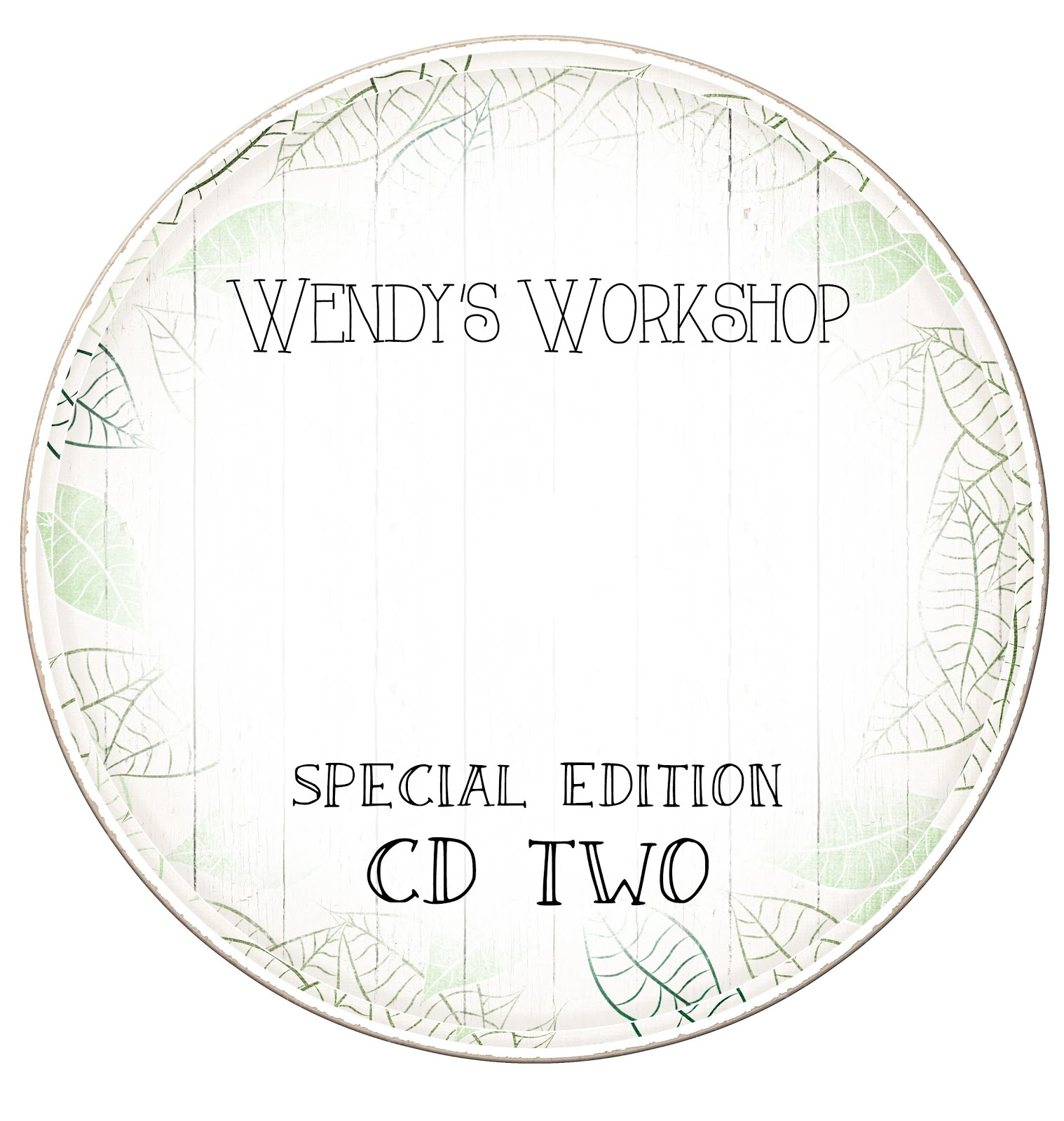WENDY'S WORKSHOP SPECIAL EDITION TWO £14.99