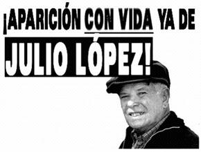 Firma por Jorge Julio López
