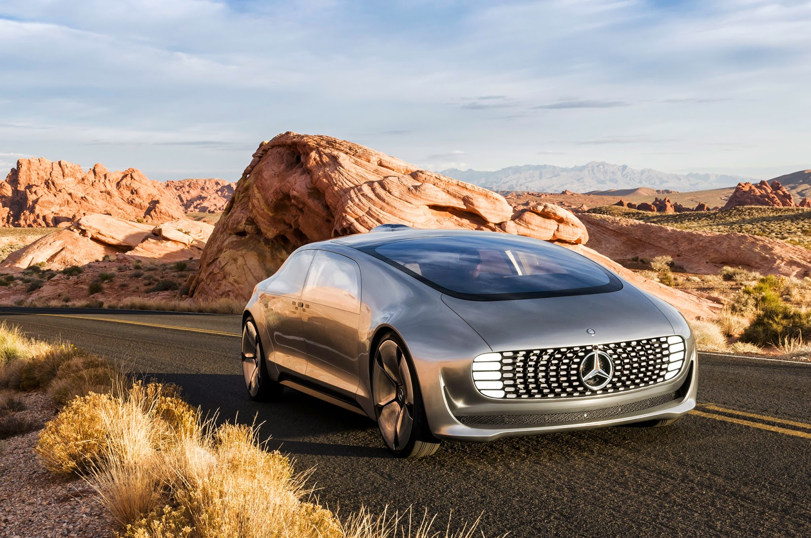 The Mercedes-Benz F 015 Luxury in Motion.