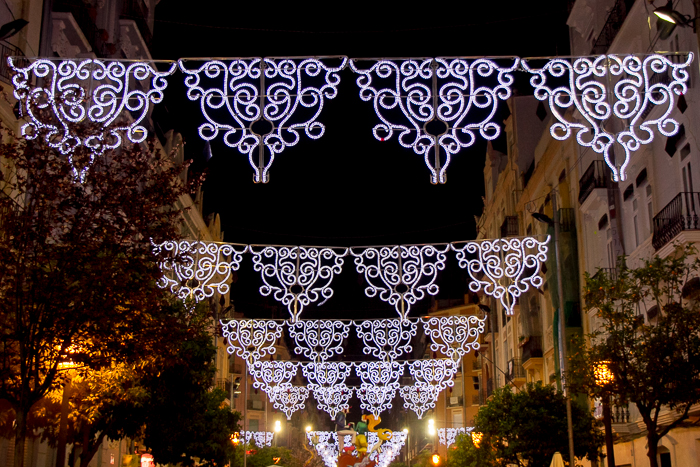 Illuminated Streets Fallas