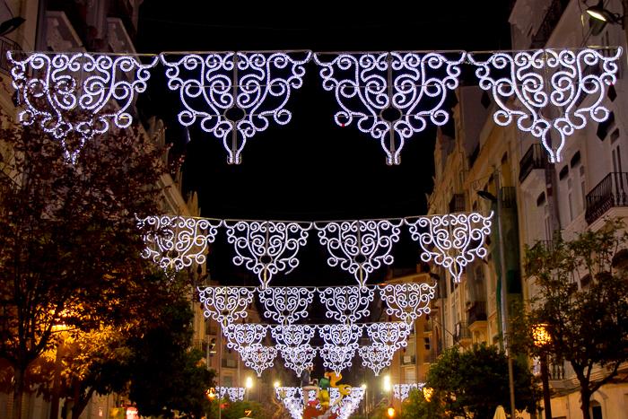 Illuminated Streets Fallas