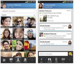 blackberry messenger per Android e iPhone