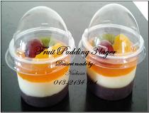 Fruit Pudding 3 Layer