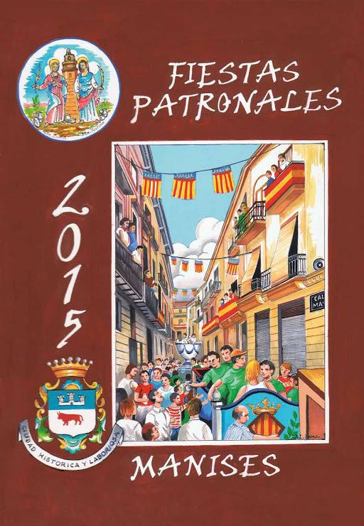 20.07.15 PROGRAMA DE LAS FIESTAS A SANTAS JUSTA Y RUFINA, PATRONAS DE LA CERÁMICA Y DE MANISES