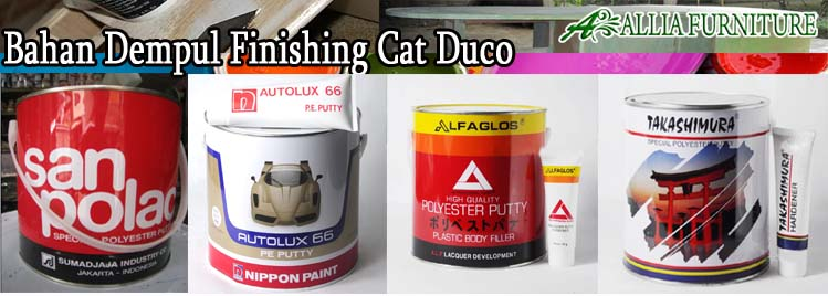 Bahan Dempul Finishing Cat Duco