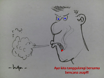 menanggulang bahaya asap