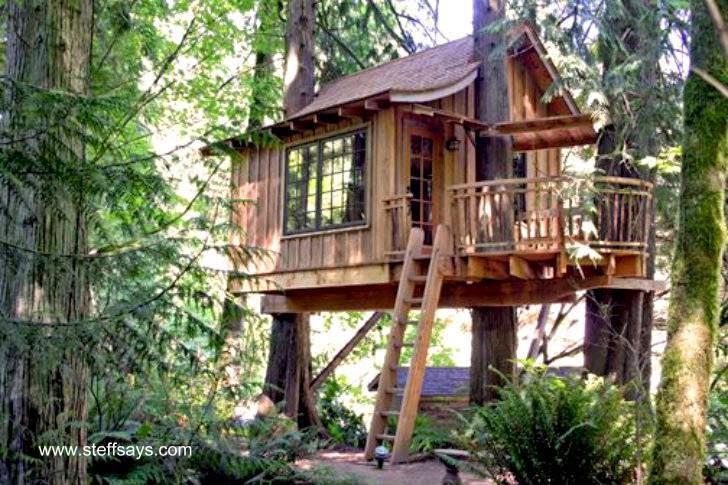 Arquitectura de casas creativas casas y caba as hechas - Cabanas de madera en arboles ...