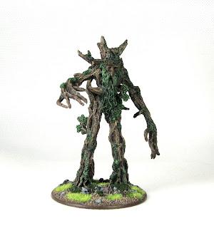 Metalowa Figurka Władca Pierścieni Ent Drzewiec Pasterz Entów Dwie Wieże Upadek Isengardu Marsz Entów