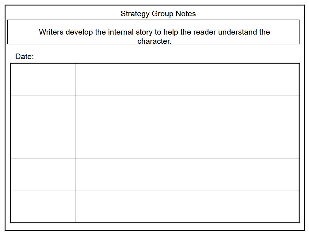 notes writing narrative essay