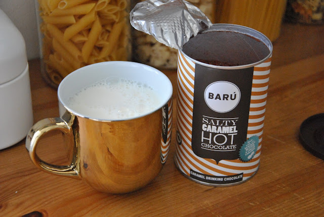Salty Caramel Hot Chocolate von Barú
