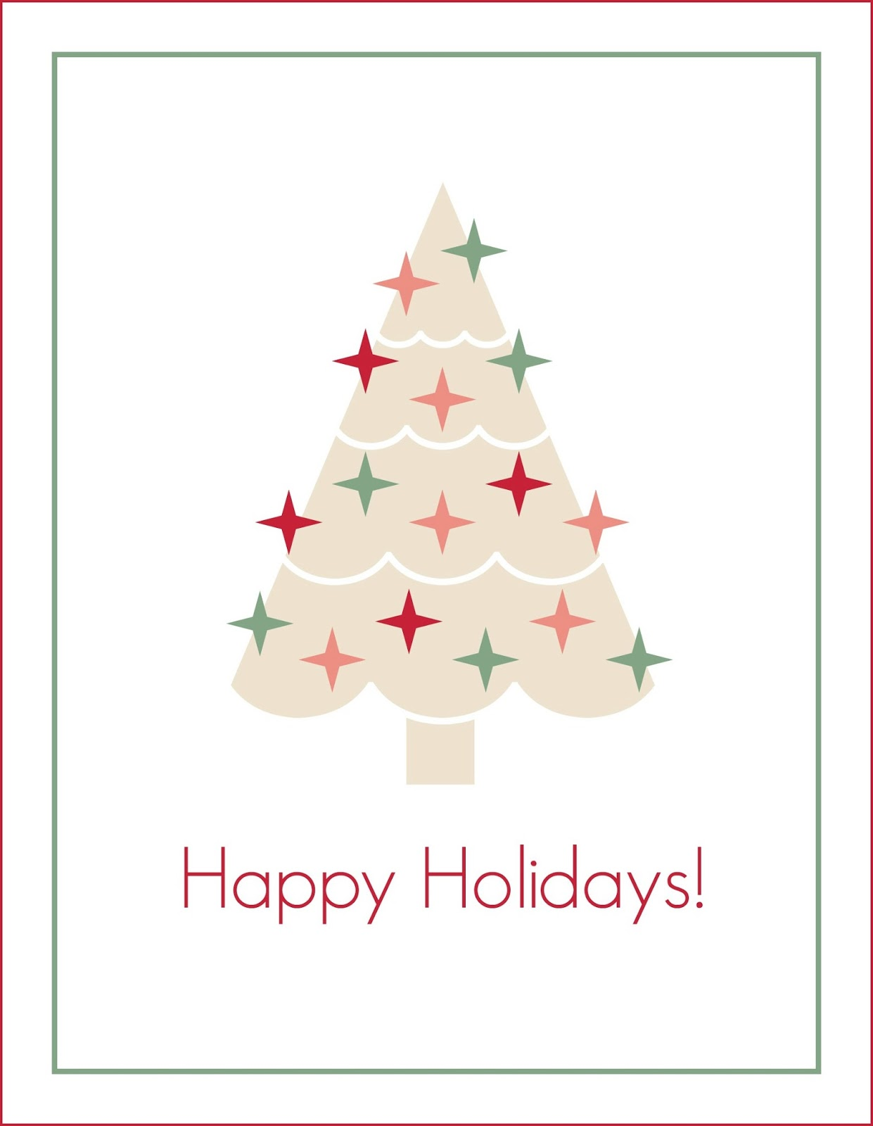 Peachy Keen Blog: FREE Christmas Printable 8x10