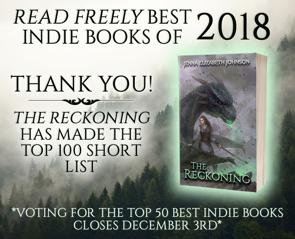 CAST YOUR VOTE FOR THE RECKONING!