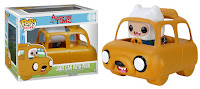 Pop! Ride Jake car with Finn