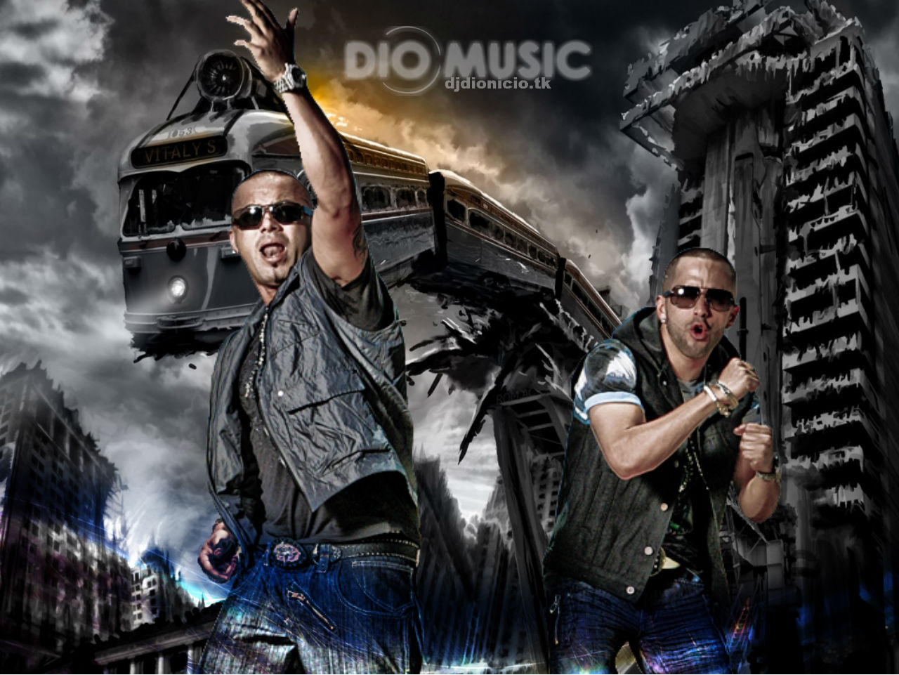 wallpaper hd wisin y yandel 3d 2012 fondos de pantallas