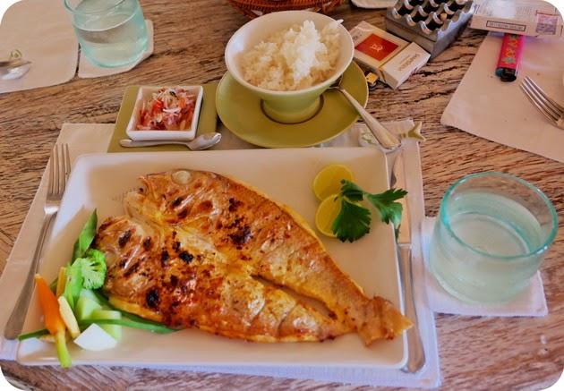 menu makanan di sardine bali