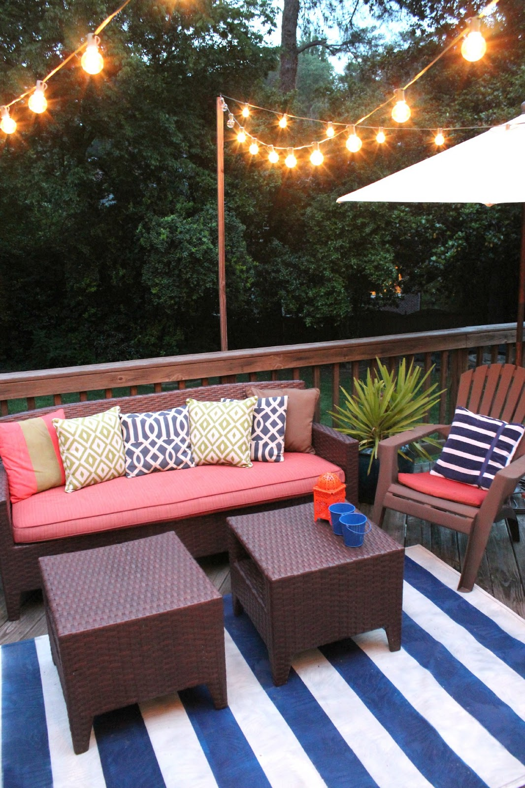 Our Back Porch is finally Ready for Summer Southern