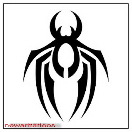 Cool Tribal Tattoo Designs To Draw Spider Tattoos Are One