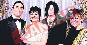 ten most expensive weddings Lisa Minelli and David Gest