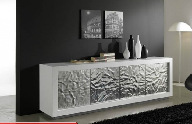 12 dise os de muebles para salas de metal elegantes y for Diseno de modulares para comedor