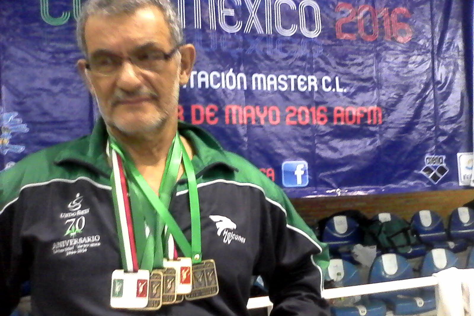 Medallas de natación