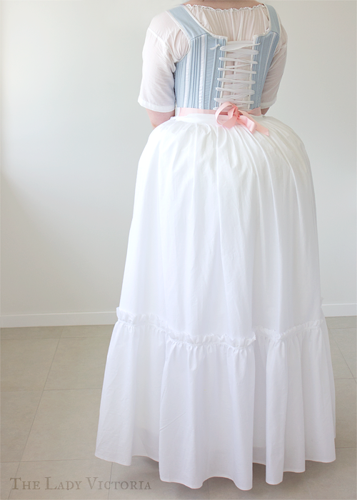 lawn petticoat back veiw