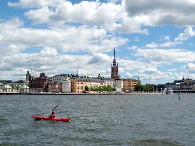 Stockholm Estocolmo Sweden Suecia Channel River Canal Kayak Gamla Stan