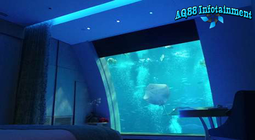 Liburan bisa diisi dengan pengalaman yang unik, salah satunya adalah tidur dengan ditemani puluhan ribu ikan. Pengalaman nan mewah itu bisa dinikmati di Ocean Suites, Singapura yang memiliki jendela akuarium bawah laut.