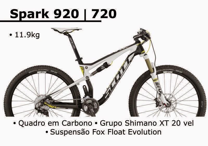 Bicicleta Scott Spark 920 / 720 2015