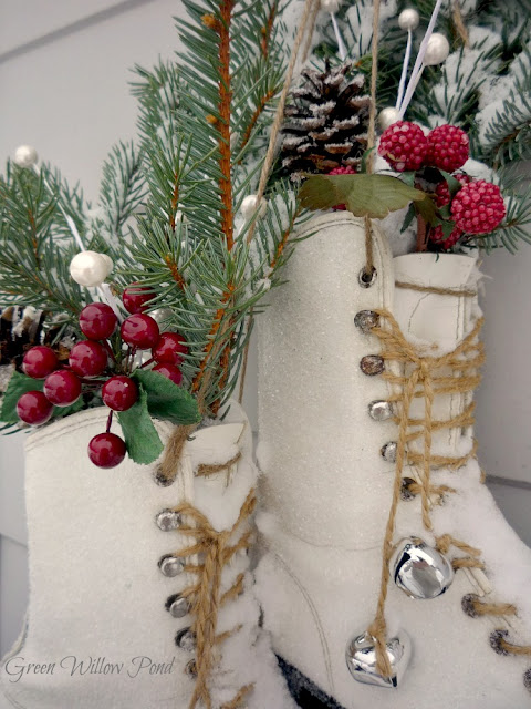 Decor ice skates