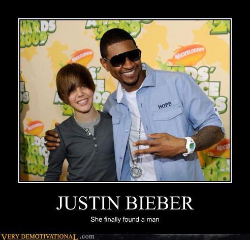 justin bieber fail blog. Justin Bieber Demotivational