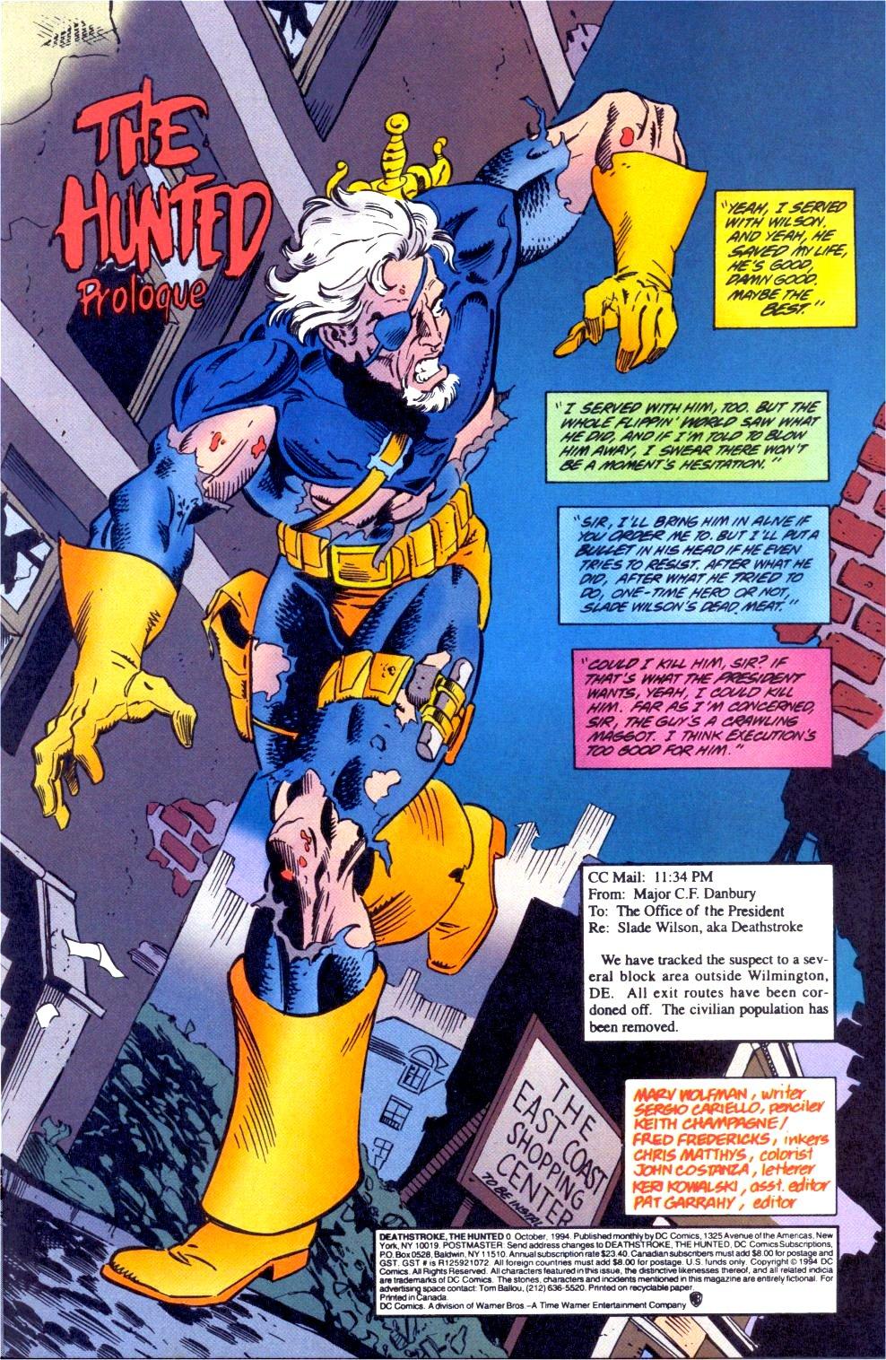 Deathstroke (1991) Issue #0 #5 - English 2
