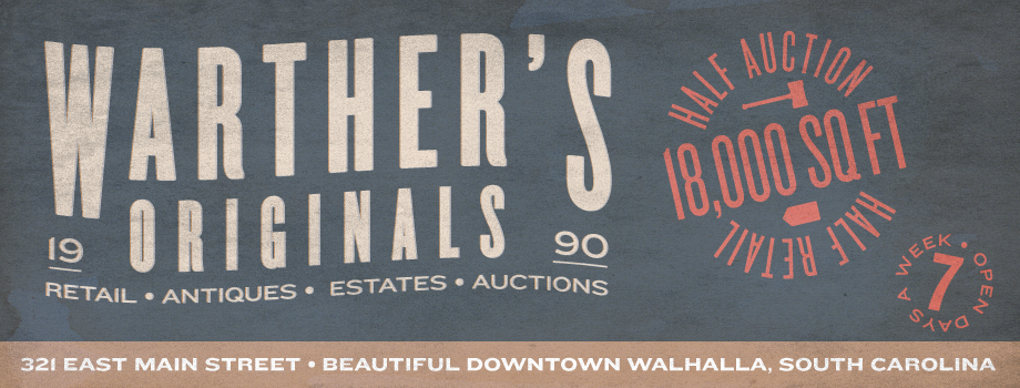 Warther's Originals Antique Market & Auction Co.