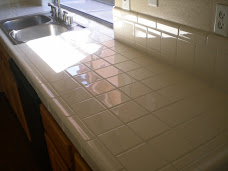 Kitchen Counter Regrout Work