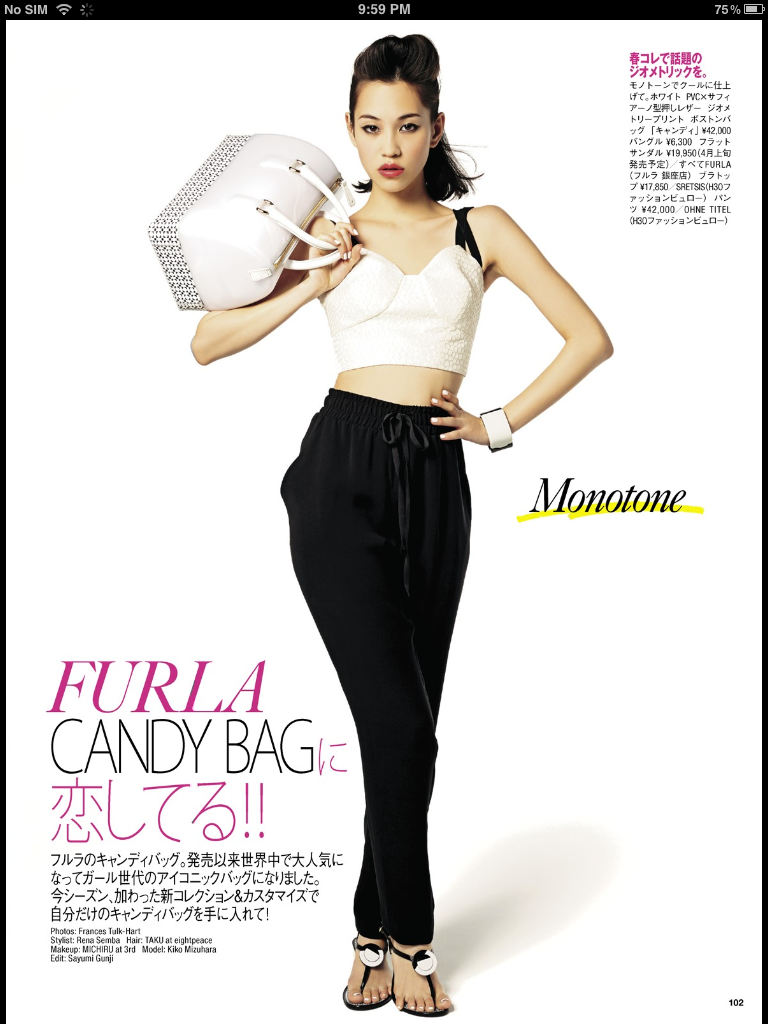 HOUSE OF FUN: FURLA'S NEWEST PROJECT FOR CANDY BAG: #CANDYCOOL