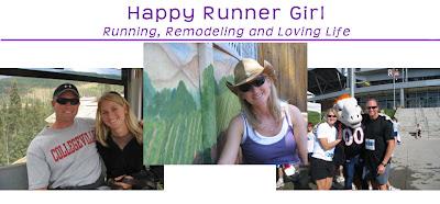 Happy Runner Girl