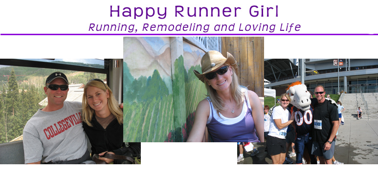 Happy Runner Girl