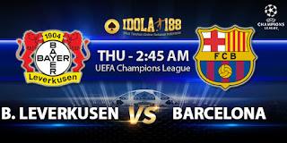 Prediksi Bayer Leverkusen vs Barcelona 10 Desember 2015   Liga Champions