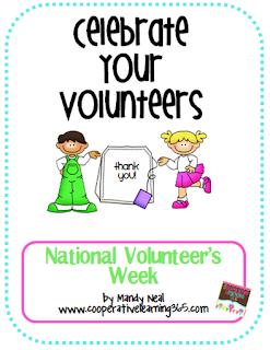 , National Volunteer Week Freebie