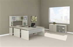 Modern U Shaped Desk