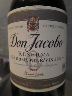 Don Jacobo Reserva 2004 from Spain