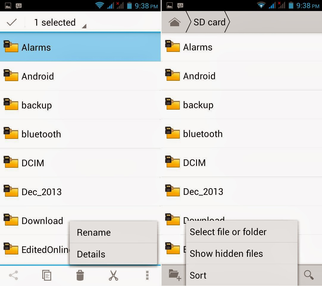 DTC Mobile GT17 Jupiter File Manager