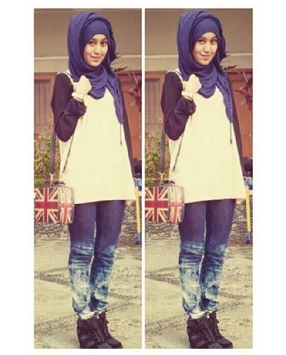 5 Hijab Fashion Casual Yang Tren Di Tahun 2015 Area Kesehatan Wanita Trend Fashion Remaja