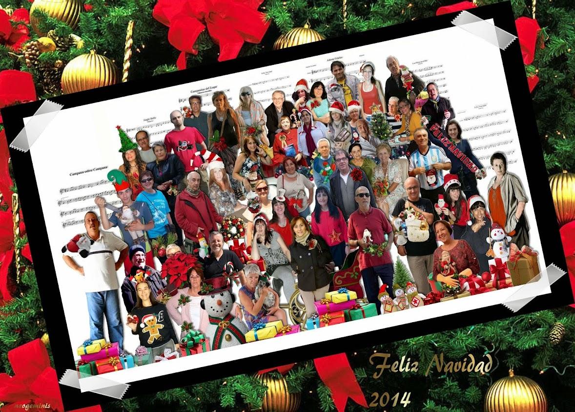 Feliz Navidad Bloguera 2014!